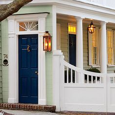 This Color Lacquered Life Church Street Front Door