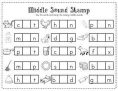 Beginning sounds, Kindergarten literacy and Worksheets on