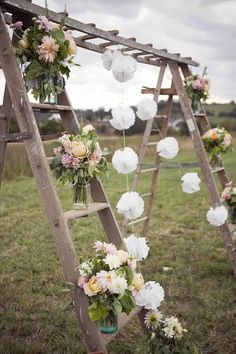 Outdoor Decoration Ideas For Rustic Weddings Mariage Idées De