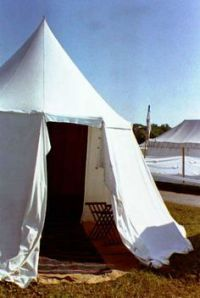 How to Make Civil War Tent Fly Out of Canvas | SCA Tents ...