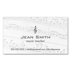 1000+ images about Musician Business Cards on Pinterest