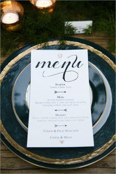 8 Pretty Perfect Wedding Menu Ideas Acrylic Menu Menus