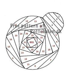 1000+ images about Iris Folding Patterns on Pinterest