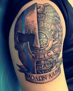 20 Red Line Fireman Tattoos Ideas And Designs