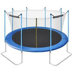 ultrasport jumper trampoline de jardin cm avec filet de securite