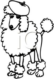 Free poodle Pattern for DIY-Time For Poodles & Friends