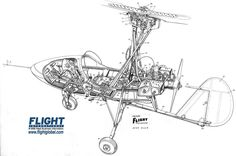 FREE PLANS TO BUILD YOUR OWN GYROPLANE, Gyrocopter or