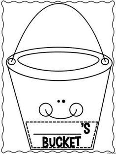 BUCKET FILLER'S PLEDGE~ Great idea to extend your bucket