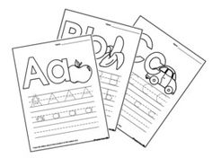 Good alphabet tracing worksheets for preschoolers to