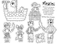 1000+ images about Preschool pirates on Pinterest