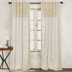 Skyline Grommet Curtain Panel Pair My Living Space Pinterest