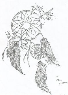 Like this Dream Catcher tattoo. I wouldn't put my name in