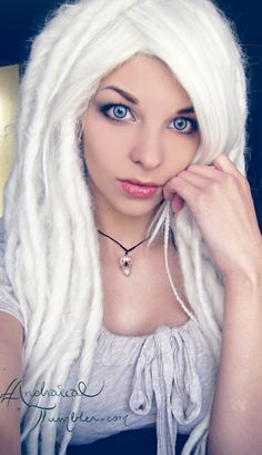 white dreads on pinterest dreadlocks synthetic dreads and red dreads