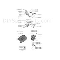 Where can you find chainsaw parts diagrams