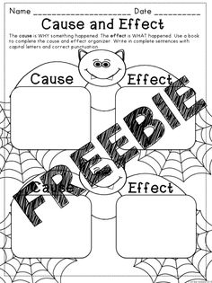 FREE Halloween Reading Graphic Organizers: This is great