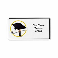 1000+ images about Graduation: Address Labels on Pinterest