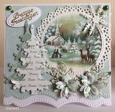 Voorbeeldkaart Kerst Categorie Scrapkaarten