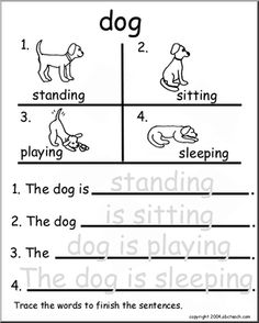 1000+ images about dog activities for school on Pinterest | Worksheets. Handwriting practice worksheets and Fun dog