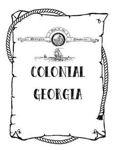 Georgia, Poem and Worksheets on Pinterest