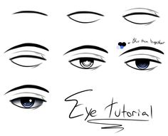 1000+ images about anime eyes..cartoons... Tutorials on