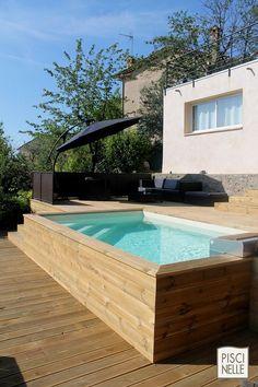 La Petite Piscine Hors Sol En Photos Beautiful Ground Pools And Piscine Hors Sol