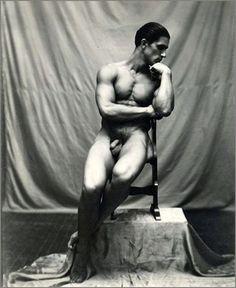 vintage male naturists