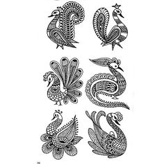 Images For > How To Draw Mehndi Designs On Paper Step By Step