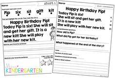 Sight Words Assessment Checklist {Kindergarten
