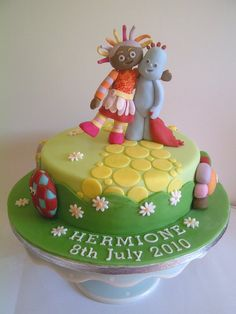 In The Night Garden Cake For Arch Food Food Glorious Food