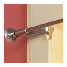 Easy Mount Instant Curtain Rod Holders No Nailing! They Fit Over