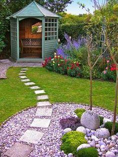 Beaux Jardins Stepping Stones And Jardins On Pinterest