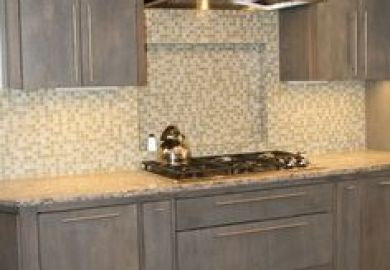 Ideas About Gray Stained Cabinets On Pinterest