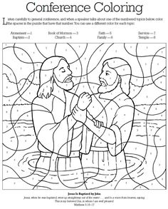 General Conference Coloring