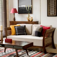 India Inspired Modern Living Room Designs Furniture Modern