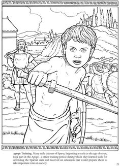1000+ images about Coloring Pages/LineArt Ancient Greek