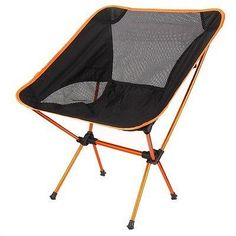 fishing chair with arms vintage desk chairs fisherman pinterest portable folding beach seat for hiking picnic bbq orange details can be