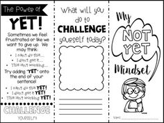 Free printable growth mindset statements for classroom