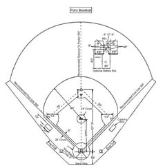 Downloadable little league field diagram for coaches and