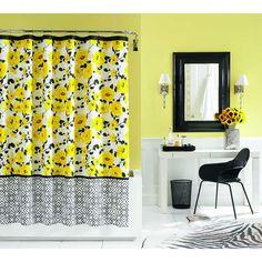 Echo Jaipur Shower Curtain #Dillards $35... i have seen