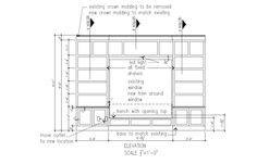 Shop Drawings for Built-ins & Furniture on Pinterest