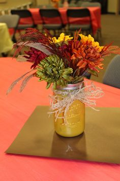 Mason Jar Centerpiece Ideas For Weddings