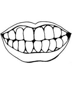 Dental Coloring Page printed on yellow card stock and