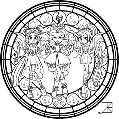 Coloring, Stained glass and Coloring pages on Pinterest