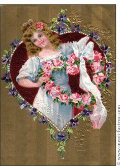 1000 Images About Cartes Postales Vintage Fête Des Mères