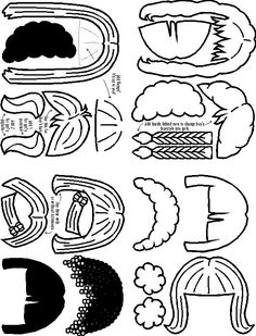 1000+ images about Foam or Paper Dolls on Pinterest