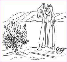 Bible coloring pages, Coloring pages and Coloring on Pinterest