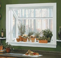 How To Replace An Existing Window With A Garden Window An Herbs