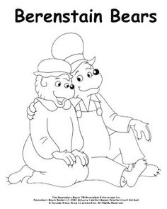 Sheets Berenstain Bears Messy Room Coloring Pages