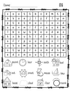 Phonics Worksheets..Rules to remember to teach difference