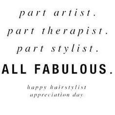 #hairstylistappreciationday #vickipoppsalon Happy Hair